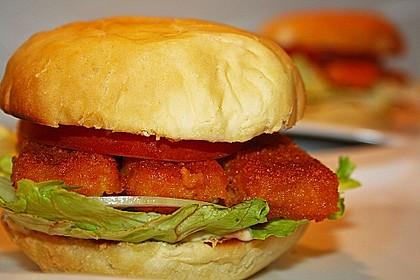 Fischstäbchenburger