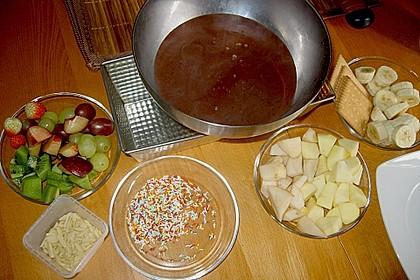 Schokoladen - Obst - Fondue 2