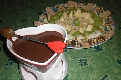 Schokoladen - Obst - Fondue 3