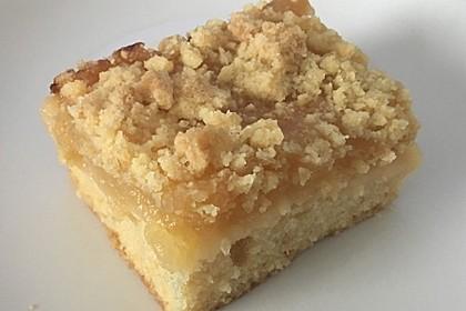 Streusel Apfel Blechkuchen 8