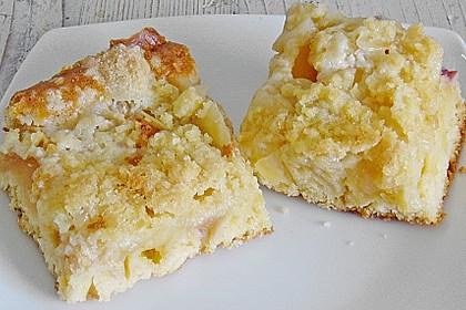 Streusel Apfel Blechkuchen 4