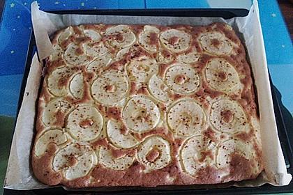 Apfelkuchen Großmutters Art 194