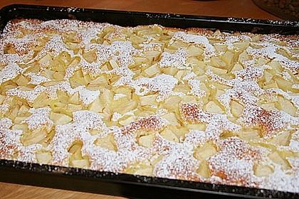 Apfelkuchen Großmutters Art 9
