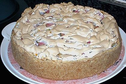 Rhabarberkuchen mit Baiser 15
