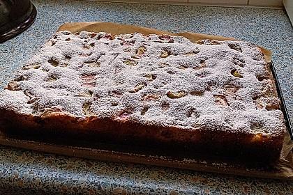 Rhabarberkuchen mit Baiser 9