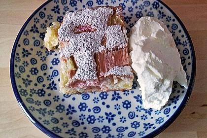 Rhabarberkuchen mit Baiser 7