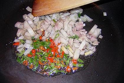 Asiatisch gebratene Nudeln süß - scharf, vegetarisch 16