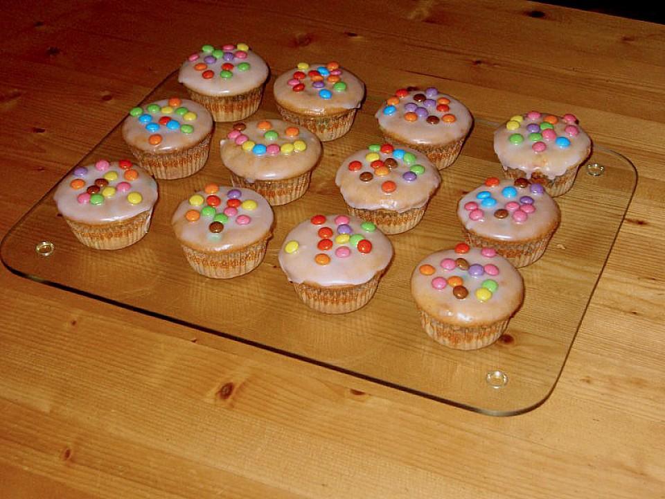 marzipan smarties muffins rezept mit bild von fabanna. Black Bedroom Furniture Sets. Home Design Ideas