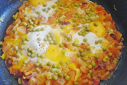 Spanische Eierpfanne
