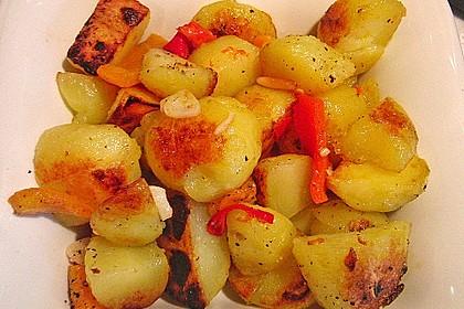 Spanische Kartoffeln 4