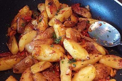 Spanische Kartoffeln 3