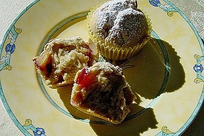 Saftige Pflaumen - Muffins 5