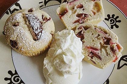 Saftige Pflaumen - Muffins