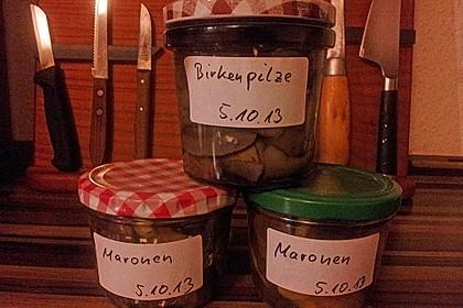 pilze einkochen rezept mit bild von norwegen. Black Bedroom Furniture Sets. Home Design Ideas
