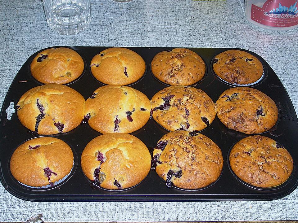 blaubeer muffins von anjil chefkoch de