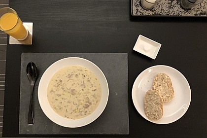 Hack-Käse-Porree-Suppe 6