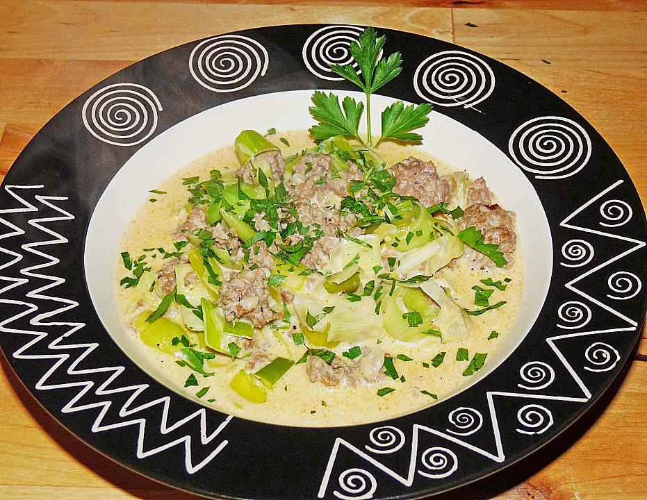 Käse lauch suppe kräuterschmelzkäse Rezepte   Chefkoch.de