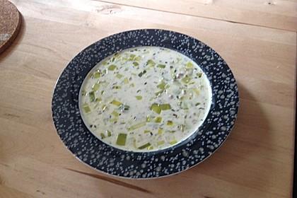 Hack-Käse-Porree-Suppe 6