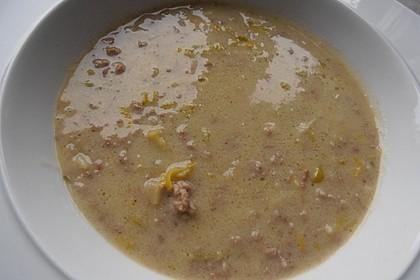 Hack-Käse-Porree-Suppe 32
