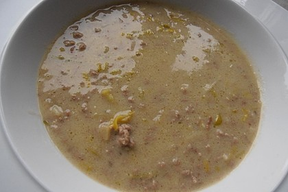 Hack-Käse-Porree-Suppe 28