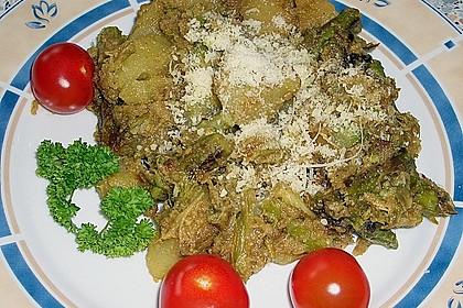 Grüner Spargel und neue Kartoffeln mit Bärlauch - Pesto 19