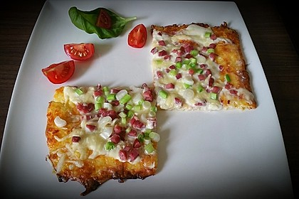 Low Carb Keto Flammkuchen 1