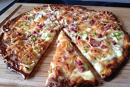 Low Carb Keto Flammkuchen