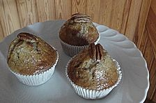 Ahorn-Pekanuss-Muffins