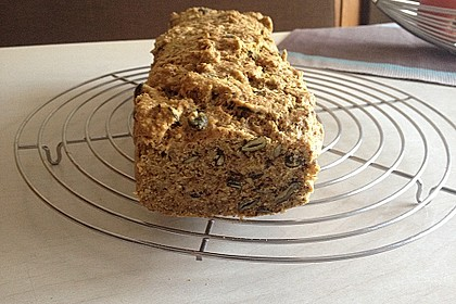 Low Carb Brot glutenfrei getreidefrei 1