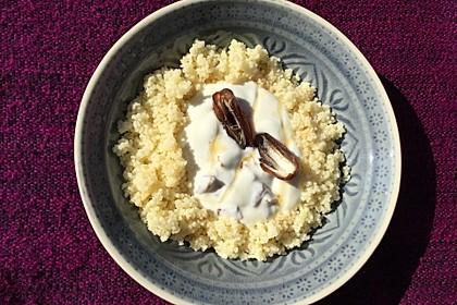 Couscous mit getrockneten Aprikosen 1