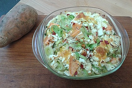 Süßkartoffel-Gratin mit Feta 12