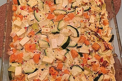 Süßkartoffel-Gratin mit Feta 0