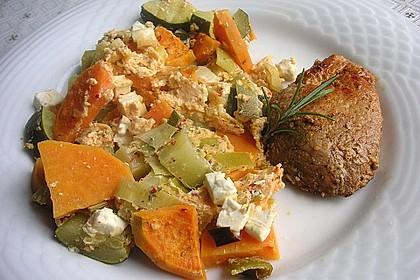 Süßkartoffel-Gratin mit Feta 3