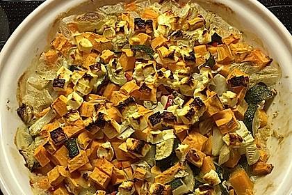 Süßkartoffel-Gratin mit Feta 14