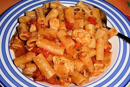 One Pot Penne mit Parmesan 26