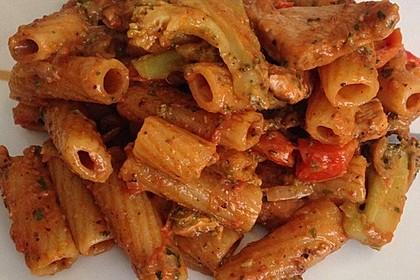 One Pot Penne mit Parmesan 27
