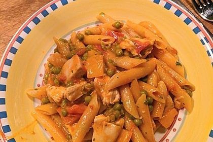 One Pot Penne mit Parmesan 55
