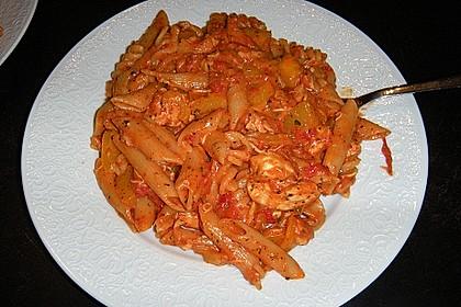 One Pot Penne mit Parmesan 18