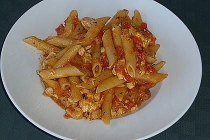 One Pot Penne mit Parmesan 29