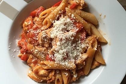One Pot Penne mit Parmesan 14