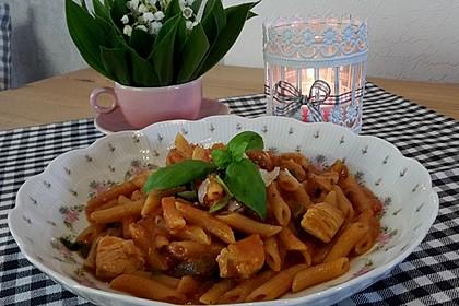 One Pot Penne mit Parmesan 9