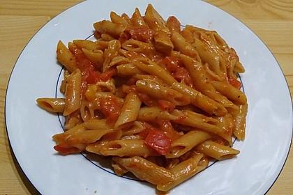 One Pot Penne mit Parmesan 33