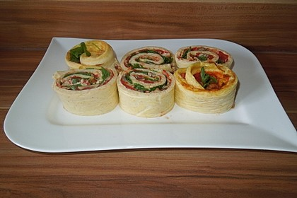 Low Carb Pizzarolle 70