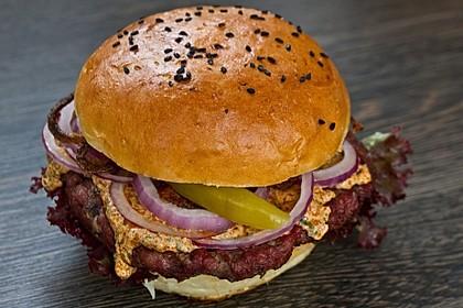 burger buns rezept mit bild von custom griller. Black Bedroom Furniture Sets. Home Design Ideas