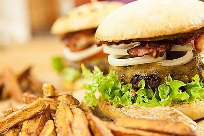 Saftig hausgemachter Yasilicious Burger