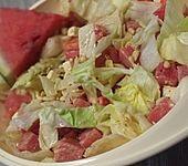 Wassermelonensalat mit Cashews