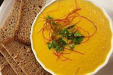 Karotten-Ingwer-Süppchen nach Mangoldkehlchen Art
