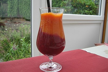 Brombeer-Papaya Smoothie 1