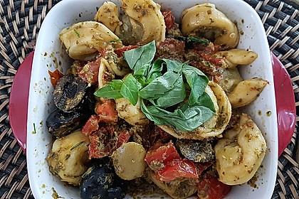 Tortellini-Pesto Salat 1