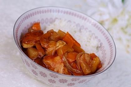 Hähnchen süß-sauer wie beim Chinamann 5